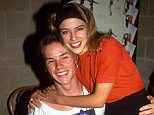 Mandatory Credit: Photo by REX/Shutterstock (523923n) Guy Pearce and Kylie Minogue VARIOUS - 1990