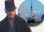 ***Not available as part of a subscription deal. Fee set at ?200 before 22:00 on 7th April 2016 for use of the set before this time*** EXCLUSIVE ALLROUNDEREXCLUSIVE Tom Hardy is spotted back on set of 'Taboo' in Kent. This is the first time he has been seen since Storm Katie damaged the set. In this particular scene, an explosion cab be seen on a large sail boat. Featuring: Tom Hardy Where: Gravesend, United Kingdom When: 06 Apr 2016 Credit: WENN.com