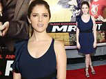 """NEW YORK, NEW YORK - APRIL 06:  Actress Anna Kendrick attends the """"Mr. Right"""" New York Premiere at AMC Lincoln Square Theater on April 6, 2016 in New York City.  (Photo by Monica Schipper/Getty Images)"""