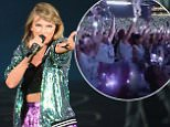 Singer Taylor Swift performs at Gillette Stadium on July 25, 2015 in Foxboro, Massachusetts.  \n\n\nFOXBORO, MA - JULY 25:  \n(Photo by Michael Loccisano/Getty Images for TAS)