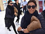 """photos April 6,2016  Eva Longoria with a travel pillow seen departing-in an early flight- LMM ?airport in San Juan, Puerto Rico. the Telenovela actress Eva Longoria visited- the """"CENTRO TAU"""", a philanthropic? educational project of the?The RICKY MARTIN FOUNDATION, in Loiza, Puerto Rico. Later in the evening, Eva was the special guest at a ?fundraising?cocktail party in a private residence in the?exclusive sector of Dorado, Puerto Rico.\n\nPictured: Eva Longoria\nRef: SPL1259178  060416  \nPicture by: Photopress PR\n\nSplash News and Pictures\nLos Angeles: 310-821-2666\nNew York: 212-619-2666\nLondon: 870-934-2666\nphotodesk@splashnews.com\n"""