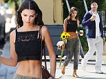 Exclusive Allrounder. No Web Usage. Mandatory Credit: Photo by Startraks Photo/REX/Shutterstock (5623778s) Emily Ratajkowski with boyfriend Jeff Magid Emily Ratajkowski out and about, Los Angeles, America - 05 Apr 2016 Emily Ratajkowski grabs Coffee before Grocery Shopping