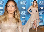 "HOLLYWOOD, CALIFORNIA - APRIL 07:  Actress/Singer Jennifer Lopez attends FOX's ""American Idol"" Finale For The Farewell Season at Dolby Theatre on April 7, 2016 in Hollywood, California. at Dolby Theatre on April 7, 2016 in Hollywood, California. at Dolby Theatre on April 7, 2016 in Hollywood, California.  (Photo by Steve Granitz/WireImage)"