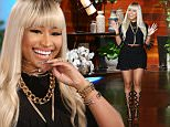 \nActress and Pop Star  NICKI MINAJ joins ?The Ellen DeGeneres Show? on Thursday, April 7th and talks to Ellen about her current relationship status, the second ring she received and how she spent her Valentine?s Day.  Nicki also talks to Ellen about starring in the new film ?Barber Shop: The Final Cut? with ICE CUBE and how much she has always looked up to him.  Plus, Ellen and Nicki do a special live segment on Facebook and answer questions from viewers, including what Nicki does before bed.  Tune in tomorrow on Thursday, April 7th to find out what her favorite body part is!\n