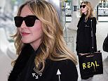 Madonna flies to London Heathrow to reunite with her son Rocco. See SWNS story SWROCKY.  Madonna flew to London today (Thurs 7th April) to reunite with her son Rocco to rebuild their relationship in the light of the much-publicised custody battle. The star arrived in London fresh after completing 82 shows that earned over ?120m and reached over a million fans around the world. Her Rebel Heart global tour made her the most successful solo touring artist of all time. Despite the rigours of the tour, immediately after it finished she stopped off at home in New York to spend some time with her children. She then flew straight to London to work to restore her family relationships with Rocco and his father. The singer has already won the right for the hearing to be conducted in New York rather than London but it has been reported that the most important thing for her is to make sure that her teenage son is happy, properly cared for and doing well at school.