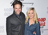 Mandatory Credit: Photo by Startraks Photo/REX/Shutterstock (5593920by) Brandon Barash and Kirsten Storms Soap Opera Digest's 40th Anniversary Party, Los Angeles, America - 24 Feb 2016