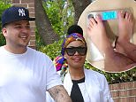 Calabasas, CA - Newly engaged couple Blac Chyna and Rob Kardashian were spotted running errands together. Rob popped the question to Blac over the weekend and she was happy and filled with joy as she posted her new ring on Instagram. \nAKM-GSI        April 6, 2016\nTo License These Photos, Please Contact :\nSteve Ginsburg\n(310) 505-8447\n(323) 423-9397\nsteve@akmgsi.com\nsales@akmgsi.com\nor\nMaria Buda\n(917) 242-1505\nmbuda@akmgsi.com\nginsburgspalyinc@gmail.com