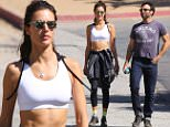 Santa Monica, CA - Alessandra Ambrosio and her man Jamie Mazur take a morning hike together at Los Leones Canyon.\n  \nAKM-GSI      April 6, 2016\nTo License These Photos, Please Contact :\nSteve Ginsburg\n(310) 505-8447\n(323) 423-9397\nsteve@akmgsi.com\nsales@akmgsi.com\nor\nMaria Buda\n(917) 242-1505\nmbuda@akmgsi.com\nginsburgspalyinc@gmail.com