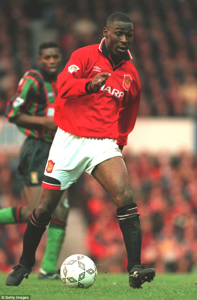 Arrival: Andy Cole announced himself to the Old Trafford faithful perfectly with the winner against Aston Villa