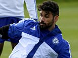 Chelsea FC via Press Association Images MINIMUM FEE 40GBP PER IMAGE - CONTACT PRESS ASSOCIATION IMAGES FOR FURTHER INFORMATION. Chelsea's Gary Cahill and Chelsea's Diego Costa
