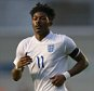 MANCHESTER, ENGLAND - NOVEMBER 15: Ainsley Maitland-Niles of England during the U19 International friendly match between England and Japan at Manchester City Academy Stadium on November 15, 2015 in Manchester, England. (Photo by Dave Thompson/Getty Images)