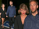 *PREMIUM EXCLUSIVE* Santa Monica, CA - Taylor Swift is clearly smitten with her man Calvin Harris. After she professed her love for her DJ boyfriend at Sundayís iHeartRadio Music Awards, she joined him for a romantic dinner date at Giorgio Baldi. The couple held hands as they left the low-key restaurant in Santa Monica.\nAKM-GSI         April 6, 2016\n**MANDATORY CREDIT MUST READ: Maciel/AKM-GSI**\nTo License These Photos, Please Contact :\nSteve Ginsburg\n(310) 505-8447\n(323) 423-9397\nsteve@akmgsi.com\nsales@akmgsi.com\nor\nMaria Buda\n(917) 242-1505\nmbuda@akmgsi.com\nginsburgspalyinc@gmail.com