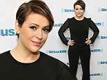 NEW YORK, NEW YORK - APRIL 08:  Actress Alyssa Milano visits the SiriusXM Studio on April 8, 2016 in New York City.  (Photo by Cindy Ord/Getty Images)