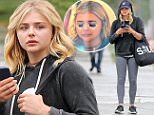 EXCLUSIVE: ChloÎ Grace Moretz braves the LA rain for an indulgence day starting at Kinara Spa in West Hollywood. She then stopped for an eye-treatment at Benefit Cosmetics on 3rd street in Weho. \n\nPictured: ChloÎ Grace Moretz \nRef: SPL1258858  070416   EXCLUSIVE\nPicture by: Splash News\n\nSplash News and Pictures\nLos Angeles: 310-821-2666\nNew York: 212-619-2666\nLondon: 870-934-2666\nphotodesk@splashnews.com\n