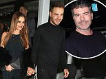 LONDON, ENGLAND - MARCH 09:  Cheryl Fernandez-Versini and Liam Payne\\nat Salmontini restarant on March 9, 2016 in London, England.  (Photo by Mark Robert Milan/GC Images)