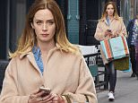 Pregnant Emily Blunt spotted shopping in NYC.\n\nPictured: Emily Blunt\nRef: SPL1259320  080416  \nPicture by: J. Webber / Splash News\n\nSplash News and Pictures\nLos Angeles: 310-821-2666\nNew York: 212-619-2666\nLondon: 870-934-2666\nphotodesk@splashnews.com\n