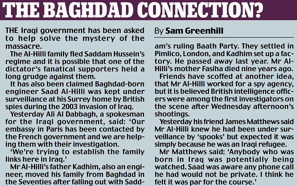 The Baghdad Connection