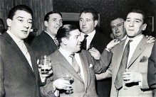 Described as the most dangerous men in Britain, the Krays were never shy about posing for the cameras. And as these unseen images show, they revelled in their reputations right from the start. These photographs, which feature in a new book on the brothers, were drawn from the private collections of friends of the Krays. The book: The Krays From the Cradle to the Grave has been released in what would have been the twins' 80th year.