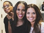 kerrywashingtonBest photobomb of my life. #supersoulsessions #supersoulsisters @oprah @drshefalitsabary
