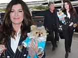 Los Angeles, CA -  Restaurateur and television personality, Lisa Vanderpump departs with her fury friends in hand at LAX for a flight out of Los Angeles with her husband Ken Todd.\nAKM-GSI     April 8, 2016\nTo License These Photos, Please Contact :\nSteve Ginsburg\n(310) 505-8447\n(323) 423-9397\nsteve@akmgsi.com\nsales@akmgsi.com\nor\nMaria Buda\n(917) 242-1505\nmbuda@akmgsi.com\nginsburgspalyinc@gmail.com