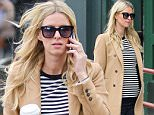 Picture Shows: Nicky Hilton  April 08, 2016\n \n Pregnant Nicky Hilton is spotted out and about in New York City. She's covering up her baby bump with a striped shirt and long coat. \n \n Non Exclusive\n UK RIGHTS ONLY\n \n Pictures by : FameFlynet UK © 2016\n Tel : +44 (0)20 3551 5049\n Email : info@fameflynet.uk.com