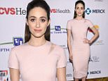 NEW YORK, NEW YORK - APRIL 09:  Actress Emmy Rossum attends Entertainment Industry Foundation Presents Stand Up To Cancer's New York Standing Room Only Event with donors American Airlines, Mastercard and Merck at Cipriani Wall Street on April 9, 2016 in New York City.  (Photo by Dimitrios Kambouris/Getty Images for EIF)