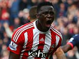 SOUTHAMPTON, UNITED KINGDOM - APRIL 09:  Victor Wanyama of Southampton celebrates scoring his team's third goal during the Barclays Premier League match between Southampton and Newcastle United at St Mary's Stadium on April 9, 2016 in Southampton, England.  (Photo by Jordan Mansfield/Getty Images)