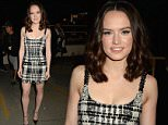 BURBANK, CALIFORNIA - APRIL 09:  (EXCLUSIVE ACCESS, SPECIAL RATES APPLY) Actress Daisy Ridley attends the 2016 MTV Movie Awards at Warner Bros. Studios on April 9, 2016 in Burbank, California.  MTV Movie Awards airs April 10, 2016 at 8pm ET/PT.  (Photo by Jeff Kravitz/FilmMagic for MTV)