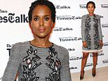 NEW YORK, NEW YORK - APRIL 08: Actress Kerry Washington attends TimesTalks Presents: Kerry Washington And Anita Hill  'Confirmation' at The Times Center on April 8, 2016 in New York City.  (Photo by Desiree Navarro/WireImage)