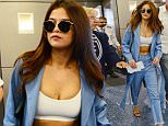 9 Apr 2016 - Miami - America  Selena Gomez was dropped off at Miami airport at 3.30pm to catch a flight back ti L.A.. The singer/actress took time to sign autographs and pose for selfies with fans. Joseph Mendez was amongst the fans once more to pose for a selfy and get an autograph from the young celebrity.   BYLINE MUST READ : XPOSUREPHOTOS.COM  ***UK CLIENTS - PICTURES CONTAINING CHILDREN PLEASE PIXELATE FACE PRIOR TO PUBLICATION ***  **UK CLIENTS MUST CALL PRIOR TO TV OR ONLINE USAGE PLEASE TELEPHONE  44 208 344 2007 ***