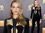 BURBANK, CALIFORNIA - APRIL 09:  Actress/model Cara Delevingne attends the 2016 MTV Movie Awards at Warner Bros. Studios on April 9, 2016 in Burbank, California.  MTV Movie Awards airs April 10, 2016 at 8pm ET/PT.  (Photo by Frederick M. Brown/Getty Images)