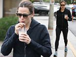 Los Angeles, CA - Jennifer Garner grabs a coffee with her friend after going to the gym. The two brave the rain to get iced lattes from Alfred Coffee. \nAKM-GSI      April 9, 2016\nTo License These Photos, Please Contact :\nSteve Ginsburg\n(310) 505-8447\n(323) 423-9397\nsteve@akmgsi.com\nsales@akmgsi.com\nor\nMaria Buda\n(917) 242-1505\nmbuda@akmgsi.com\nginsburgspalyinc@gmail.com