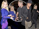 EXCLUSIVE: Evan Ross and wife Ashlee Simpson were seen leaving 'The Sherman Bar' after celebrating a friends birthday with Jessica Simpson and Eric Johnson in Sherman Oaks, CA\n\nPictured: Evan Ross and Ashlee Simpson\nRef: SPL1260822  100416   EXCLUSIVE\nPicture by: Splash News\n\nSplash News and Pictures\nLos Angeles: 310-821-2666\nNew York: 212-619-2666\nLondon: 870-934-2666\nphotodesk@splashnews.com\n