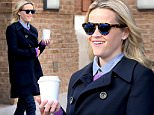 Actress Reese Witherspoon checks out of the Greenwich Hotel with a cup of coffee in New York City.\n\nPictured: Reese Witherspoon\nRef: SPL1260610  100416  \nPicture by: Christopher Peterson/Splash News\n\nSplash News and Pictures\nLos Angeles: 310-821-2666\nNew York: 212-619-2666\nLondon: 870-934-2666\nphotodesk@splashnews.com\n