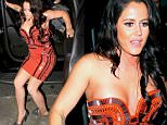 Jenelle Evan twist her foot as she meets friend at Saddle Ranch restaurant in Los Angeles, CA.\n\nPictured: Jenelle Evan\nRef: SPL1260424  090416  \nPicture by: PapJuice RICK / Splash News\n\nSplash News and Pictures\nLos Angeles: 310-821-2666\nNew York: 212-619-2666\nLondon: 870-934-2666\nphotodesk@splashnews.com\n