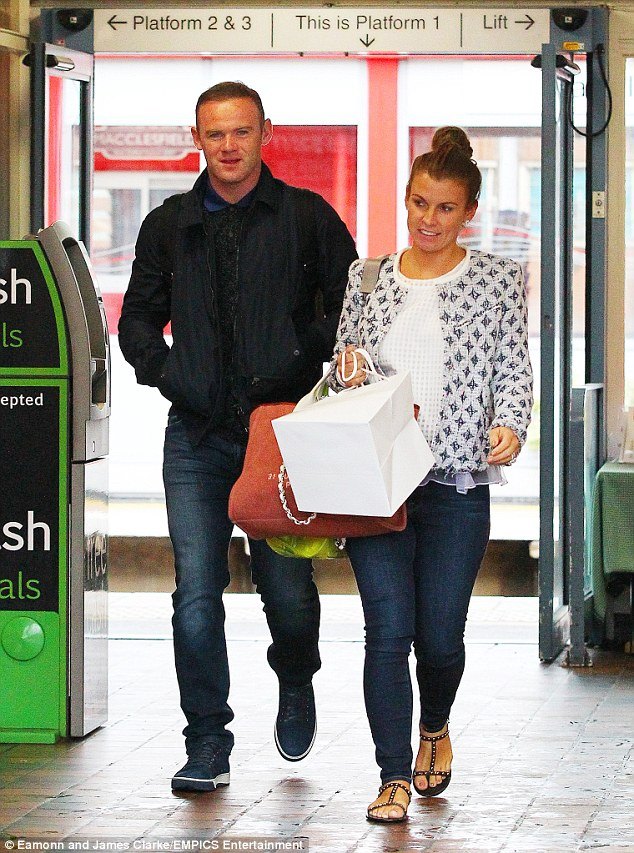 Wayne and Coleen Rooney have lived in their £5million home in Prestbury since 2005, although they are praised for being among the few stars who do use local businesses