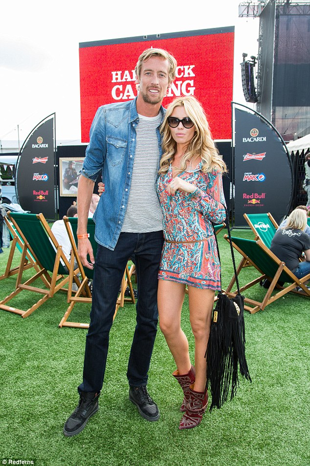 Model Abbey Clancy and her husband, footballer Peter Crouch also live in the village