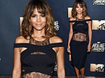 BURBANK, CALIFORNIA - APRIL 09:  (EXCLUSIVE ACCESS, SPECIAL RATES APPLY) Actress Halle Berry attends the 2016 MTV Movie Awards at Warner Bros. Studios on April 9, 2016 in Burbank, California.  MTV Movie Awards airs April 10, 2016 at 8pm ET/PT.  (Photo by Larry Busacca/MTV1415/Getty Images for MTV)