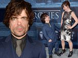 """HOLLYWOOD, CALIFORNIA - APRIL 10:  Actor Peter Dinklage (L) and Erica Schmidt attend the premiere of HBO's """"Game Of Thrones"""" Season 6 at TCL Chinese Theatre on April 10, 2016 in Hollywood, California.  (Photo by Alberto E. Rodriguez/Getty Images)"""