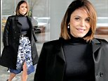 EXCLUSIVE: TV personality Bethenny Frankel attends USB's Rent the Runway Foundation's Project Entrepreneur at Conrad Hotel in New York City on April 9, 2016. Bethenny gave the keynote luncheon speech. Bethenny reacts to the cold rainy weather as she prepares to leave the Conrad Hotel.\n\nPictured: Bethenny Frankel\nRef: SPL1260524  090416   EXCLUSIVE\nPicture by: Christopher Peterson/Splash News\n\nSplash News and Pictures\nLos Angeles: 310-821-2666\nNew York: 212-619-2666\nLondon: 870-934-2666\nphotodesk@splashnews.com\n