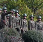 North Korean soldiers look at the South side at the truce village of Panmunjom in the Demilitarized Zone dividing the two Koreas ©- (Pool/AFP/File)