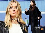 Martha Hunt and Sara Sampaio look striking as they head out of Pier59 Studios after a Victoria Secret Photoshoot in NYC\n\nPictured: Martha Hunt and Sara Sampaio\nRef: SPL1260255  080416  \nPicture by: Splash News\n\nSplash News and Pictures\nLos Angeles: 310-821-2666\nNew York: 212-619-2666\nLondon: 870-934-2666\nphotodesk@splashnews.com\n