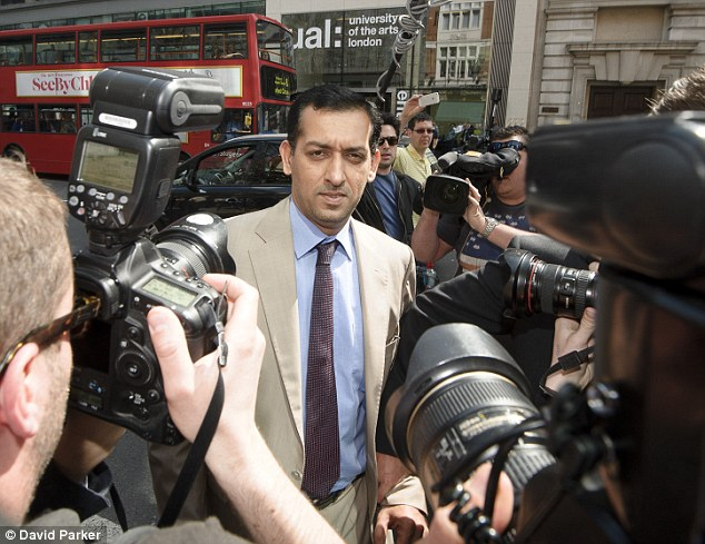Shamed: Trainer Mahmood Al Zarooni was banned for using illegal substances on his horses