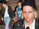 """EXCLUSIVE: Kristen Stewart spotted holding hands with girlfriend Stephanie """"Soko"""" Sokolinski at LAX airport in Los Angeles, California. The couple was seen catching a late night flight.\n\nPictured: Kristen Stewart and Stephanie ìSokoî Sokolinski\nRef: SPL1261006  100416   EXCLUSIVE\nPicture by: Splash News\n\nSplash News and Pictures\nLos Angeles: 310-821-2666\nNew York: 212-619-2666\nLondon: 870-934-2666\nphotodesk@splashnews.com\n"""