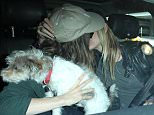 Los Angeles, CA - Ellen Page is glad to be back in LA with Samantha Thomas. The 29 year old actress was lovingly picked up by her girlfriend, who was all smiles as she gave her a big kiss after she got in the car. AKM-GSI         April 10, 2016 To License These Photos, Please Contact : Steve Ginsburg (310) 505-8447 (323) 423-9397 steve@akmgsi.com sales@akmgsi.com or Maria Buda (917) 242-1505 mbuda@akmgsi.com ginsburgspalyinc@gmail.com