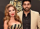 BURBANK, CALIFORNIA - APRIL 09:  TV personality Farrah Abraham (L) and Simon Saran attend the 2016 MTV Movie Awards at Warner Bros. Studios on April 9, 2016 in Burbank, California.  MTV Movie Awards airs April 10, 2016 at 8pm ET/PT.  (Photo by Kevin Mazur/WireImage for MTV)