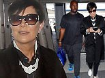 eURN: AD*202658322  Headline: EXCLUSIVE: Kris Jenner arriving for a flight with beau at LAX Caption: EXCLUSIVE: Kris Jenner arriving for a flight with beau at Los Angeles airport  Pictured: Kris Jenner and Corey Gamble Ref: SPL1257391  100416   EXCLUSIVE Picture by: Anonymous  Splash News and Pictures Los Angeles: 310-821-2666 New York: 212-619-2666 London: 870-934-2666 photodesk@splashnews.com  Photographer: Anonymous Loaded on 11/04/2016 at 16:42 Copyright: Splash News Provider: Anonymous  Properties: RGB JPEG Image (25313K 2563K 9.9:1) 2400w x 3600h at 72 x 72 dpi  Routing: DM News : GeneralFeed (Miscellaneous) DM Showbiz : SHOWBIZ (Miscellaneous) DM Online : Online Previews (Miscellaneous), CMS Out (Miscellaneous)  Parking: