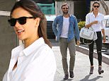 Brentwood, CA - Jamie Mazur and Alessandra Ambrosio start her birthday off right at Tavern Restaurant. For her 35th birthday, Alessandra looks stunning but simple in a white blouse with matching Fendi handbag, black ripped jeans, and neutral suede boots.\nAKM-GSI          April 11, 2016\nTo License These Photos, Please Contact :\nSteve Ginsburg\n(310) 505-8447\n(323) 423-9397\nsteve@akmgsi.com\nsales@akmgsi.com\nor\nMaria Buda\n(917) 242-1505\nmbuda@akmgsi.com\nginsburgspalyinc@gmail.com