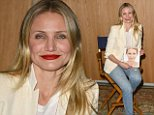 eURN: AD*202709218  Headline: 'An Evening with Cameron Diaz' in conversation, Los Angeles, America - 11 Apr 2016 Caption: Mandatory Credit: Photo by Startraks Photo/REX/Shutterstock (5635676d) Cameron Diaz 'An Evening with Cameron Diaz' in conversation, Los Angeles, America - 11 Apr 2016 'An Evening with Cameron Diaz' in conversation with Nancy Meyers, promoting her new book 'The Longevity Book'  Photographer: Startraks Photo/REX/Shutterstock  Loaded on 12/04/2016 at 05:03 Copyright: REX FEATURES Provider: Startraks Photo/REX/Shutterstock  Properties: RGB JPEG Image (20633K 1052K 19.6:1) 2240w x 3144h at 300 x 300 dpi  Routing: DM News : GeneralFeed (Miscellaneous) DM Showbiz : SHOWBIZ (Miscellaneous) DM Online : Online Previews (Miscellaneous), CMS Out (Miscellaneous)  Parking: