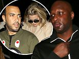 *EXCLUSIVE* West Hollywood, CA - Lamar Odom looked glum as he arrived with friends at The Nice Guy, just one day after his estranged wife Khloe Kardashian reunited with rapper French Montana. Lamar is supposed to be on the straight and narrow after he nearly died at a Nevada Brothel.\nAKM-GSI         April 11, 2016\nTo License These Photos, Please Contact :\nSteve Ginsburg\n(310) 505-8447\n(323) 423-9397\nsteve@akmgsi.com\nsales@akmgsi.com\nor\nMaria Buda\n(917) 242-1505\nmbuda@akmgsi.com\nginsburgspalyinc@gmail.com